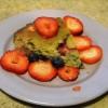 SCD Recipe: Vanilla Berry Cake
