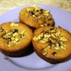 SCD Recipe: Pumpkin Walnut Muffins