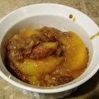SCD Recipe: Peach Crisp
