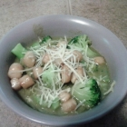 SCD Recipe: White Bean Pesto Spaghetti Squash with Scallops