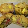 SCD Recipe: Peach Raspberry Muffins