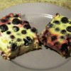 SCD Recipe: Lemon Blueberry Bars
