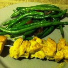 SCD Recipe: Spiced Coconut Chicken Skewers