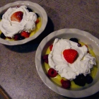 SCD Recipe: Lime Curd with Fruit and Whipped Yogurt