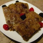 SCD Recipe: Banana Bars with Caramelized Date Topping