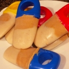 SCD Recipe: Layered Banana Peanut Butter Pops