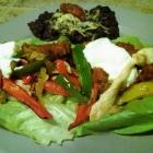 Chicken Fajita Lettuce Wraps