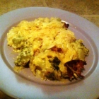 SCD Recipe: Cheese and Chicken Spaghetti Squash