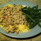 SCD Recipe: Ground Turkey Goulash with Spaghetti Squash