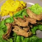 SCD Recipe: Slow Cooker Pork Tenderloin Lettuce Wraps
