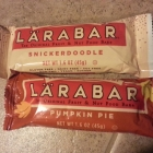 Product Review: Pumpkin Pie and Snickerdoodle Lara Bars