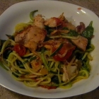 Recipe Makeover: SCD and Paleo Braised Tomato Chicken and Spinach Zoodles